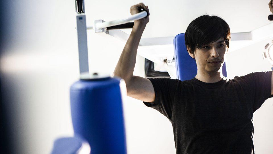 夜:マシンでのウエイトトレーニング+トレッドミルでの有酸素運動50分